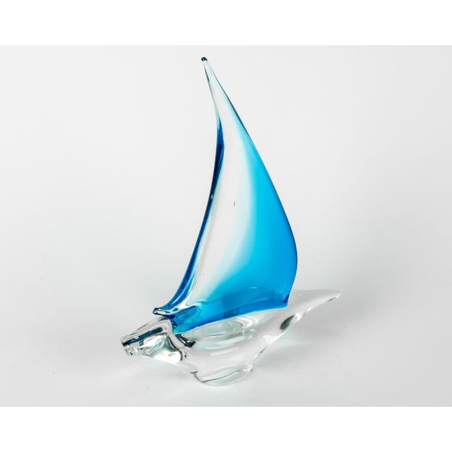 Contemporary Murano Glass Decorative Boat Piece For Sale - Image 3 of 8