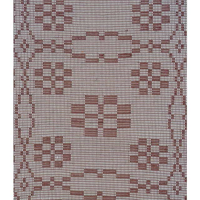 "Handwoven Reversible Vintage Swedish Rug by Scandinavian Made 85"" x 27"" For Sale In New York - Image 6 of 9"