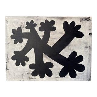 Organic Form Abstract Painting by Hiroshi Ariyama For Sale