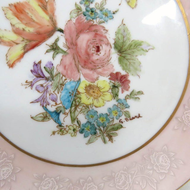 Mismatched Vintage Hand Painted Plates - Set of 4 - Image 8 of 11