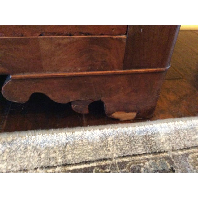 Wood 18th Century Antique Writing Cupboard For Sale - Image 7 of 11
