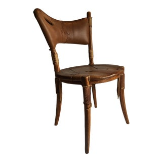 Pacific Green Cook's Island Accent Chair For Sale