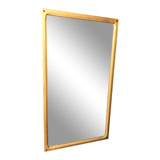 Vintage Danish Modern Wood Wall Mirror - Odder - Askel Kjersgaard For Sale