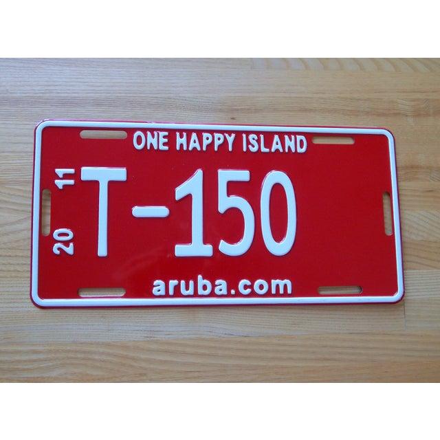 Aruba Metal License Plate - Image 2 of 3