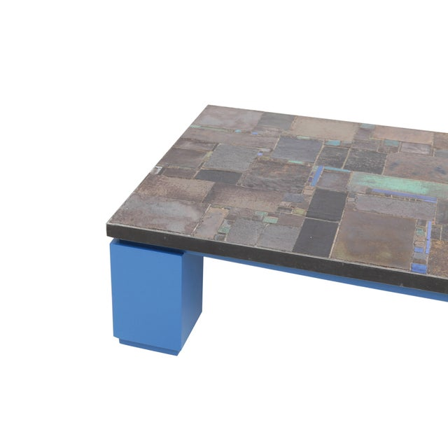 Pia Manu Ceramic Tile Coffee Table For Sale - Image 6 of 10
