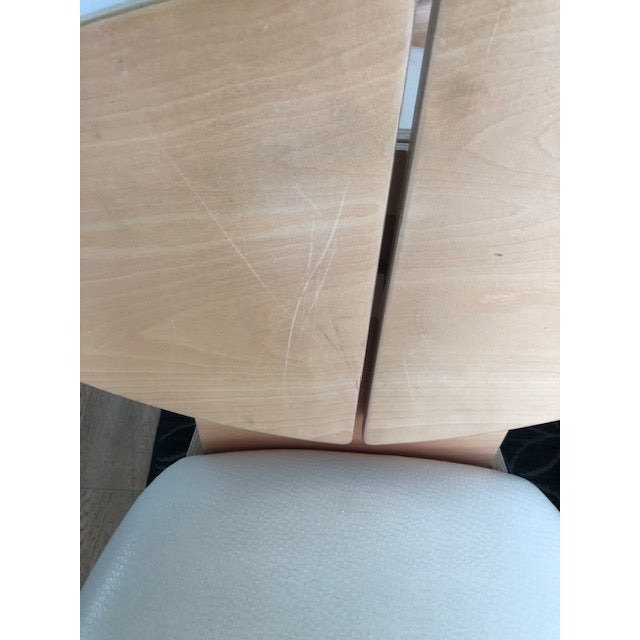 2000 - 2009 Mid-Century Inspired Dining Chairs - Set of 6 For Sale - Image 5 of 6
