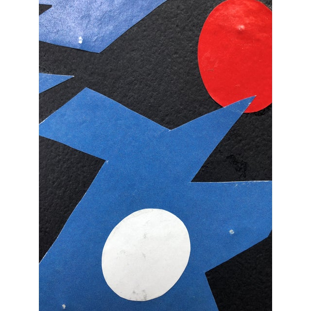 """Mid-Century Modern """"Walpurgis Night"""" Collage in the Mid-Century Style by Dalley For Sale - Image 3 of 5"""