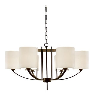 Bronze Frame Glasgow Pendant Light For Sale
