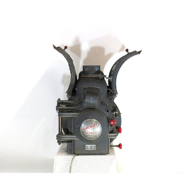 Art Deco Ashcraft 1930s Movie Theatre Projector Light For Sale - Image 3 of 6