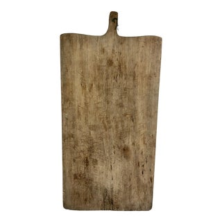 Vintage French Bread/ Charcuterie Board For Sale