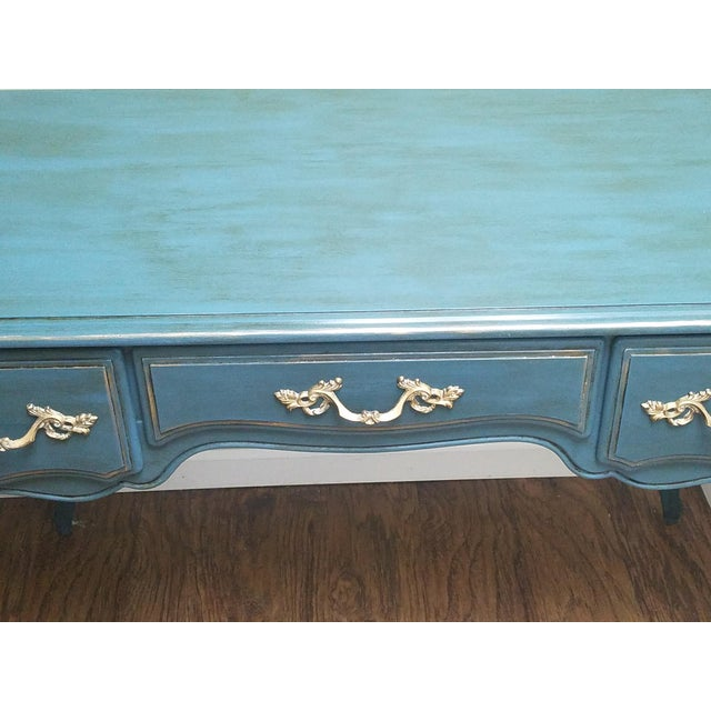 Hand Painted Desk/Vanity - Image 2 of 5