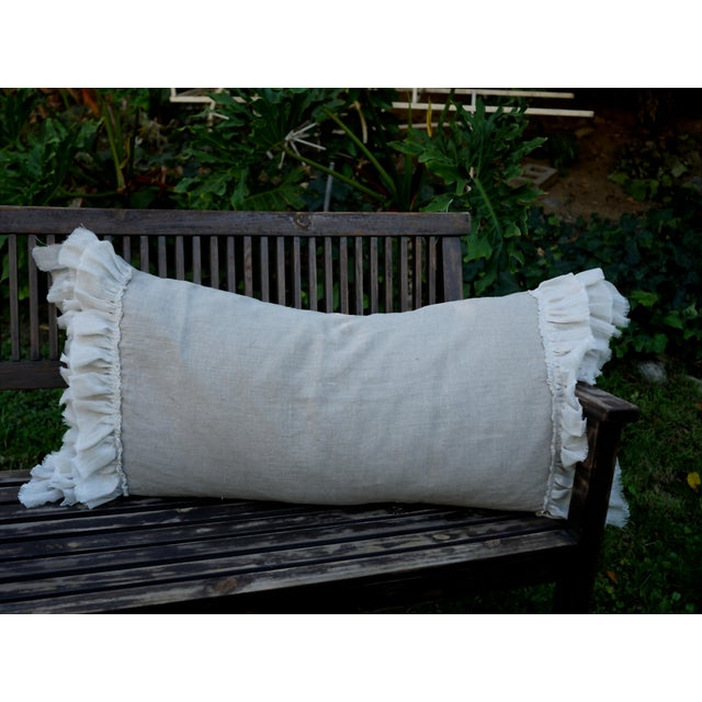 Triple Ruffle Lumbar Pillow - Image 2 of 3