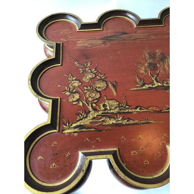 Italian Hand Painted Chinoiserie Coffee Table For Sale In New York - Image 6 of 13