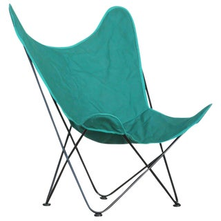 "Outdoor/Patio Butterfly ""Hardoy"" Chair by Jorge Ferrari-Hardoy for Knoll For Sale"