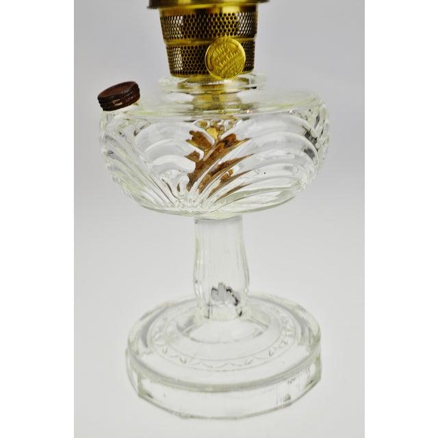 Metal Vintage Washington Drape Aladdin Oil Lamp For Sale - Image 7 of 12