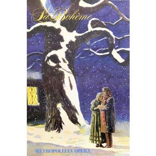 "Jamie Wyeth, ""La Boheme"", Opera Poster For Sale"