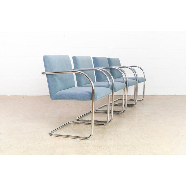 Gordon International Mies Van Der Rohe Brno Chairs For Sale - Image 4 of 11