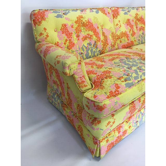 Dorothy Draper Floral Sofa - Image 4 of 6