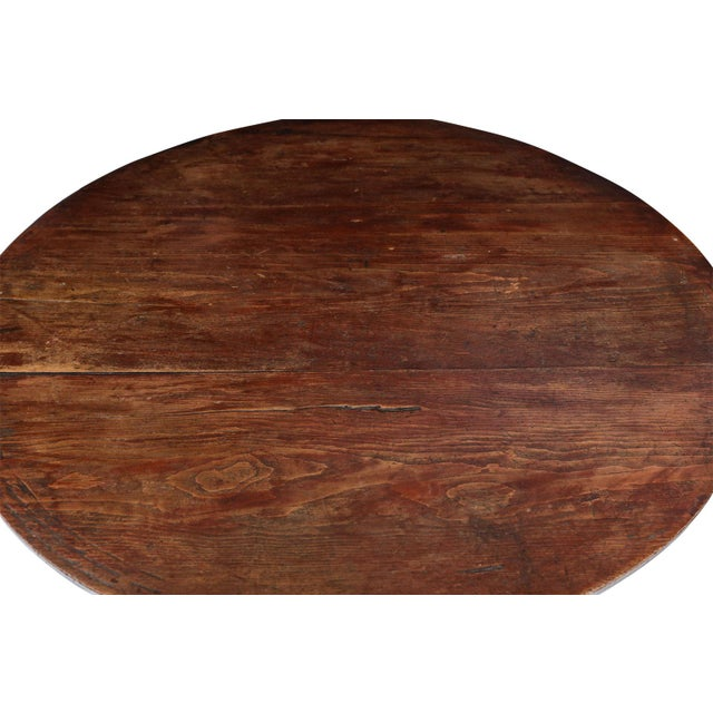 Large Pine Cricket Table For Sale In Houston - Image 6 of 13