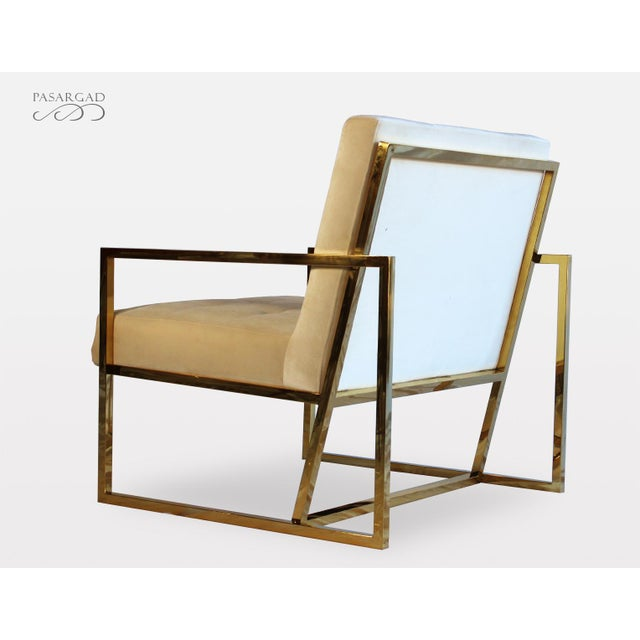 Pasargad DC Millan Collection Leisure Chair For Sale - Image 4 of 7