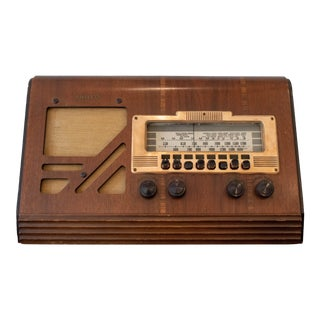 Art Deco Philco 39-25t Radio For Sale