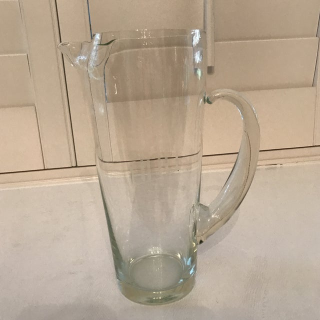 Vintage Mid Century Cocktail Pitcher For Sale In Sacramento - Image 6 of 8
