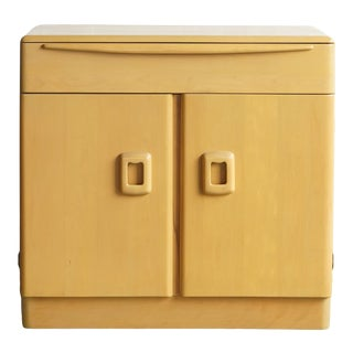 Mid 20th Century Heywood Wakefield Maple Cabinet For Sale