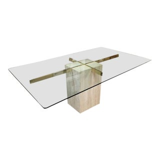 Travertine Ello Dining Table