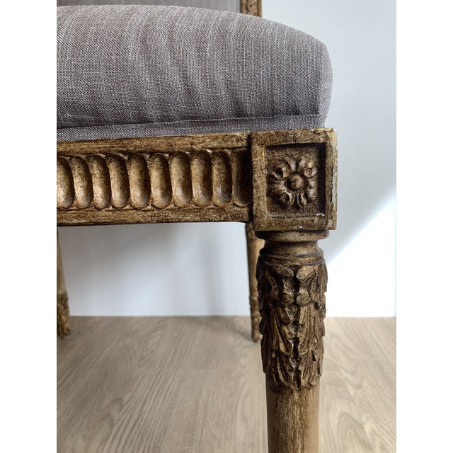 Stone Gray Nancy Corzine Chairs - Set of 8 For Sale - Image 8 of 13