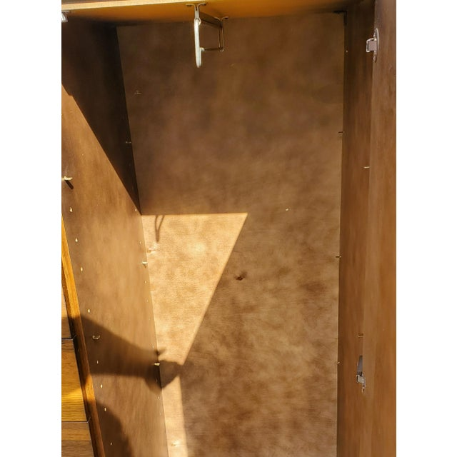 A Mid-Century Modern - Brutalist - Space Age - Wardrobe - Armoire by Henri Valliere For Sale - Image 9 of 10