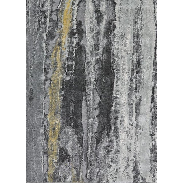 Bleecker Asphalt Rug by Feizy - 5′ × 8′ - Image 1 of 3