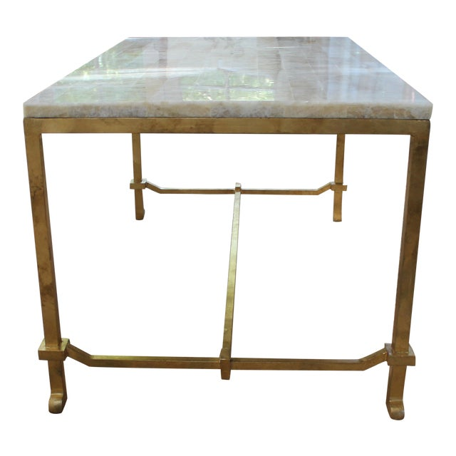 Currey and Co Coffee Table - Image 1 of 8