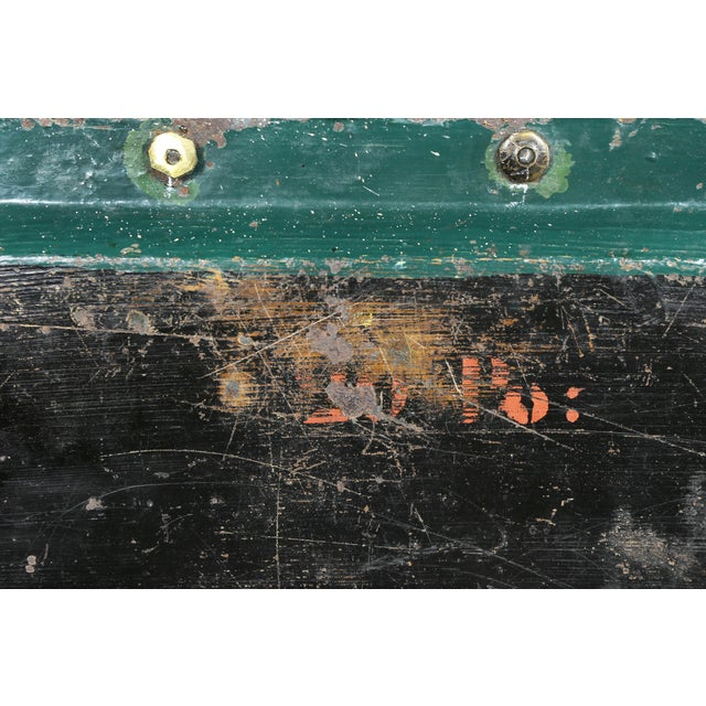 Victorian Papier Mache and Silver Plated Tray Table For Sale - Image 9 of 13