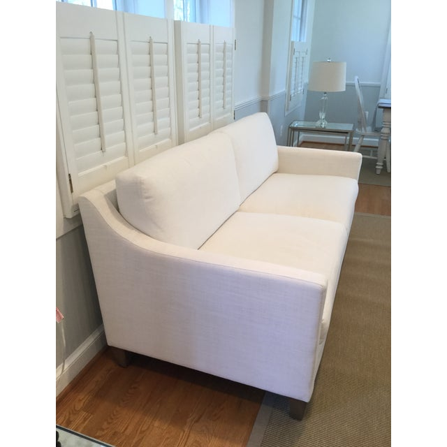 Traditional Ethan Allen Monterey Sofa For Sale - Image 3 of 5