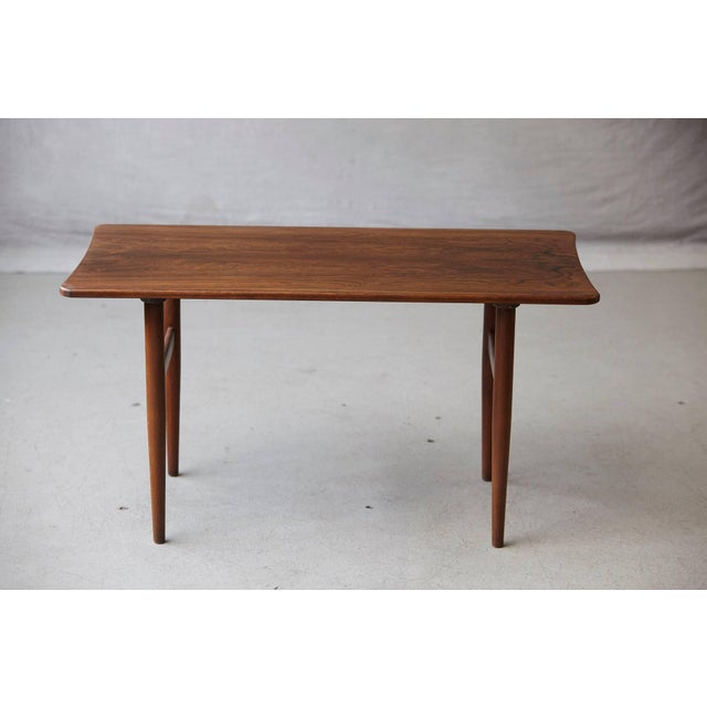 Mid-Century Modern 1960s Vintage Rosewood Coffee Table by Kurt Østervig for Jason Møbler For Sale - Image 3 of 11