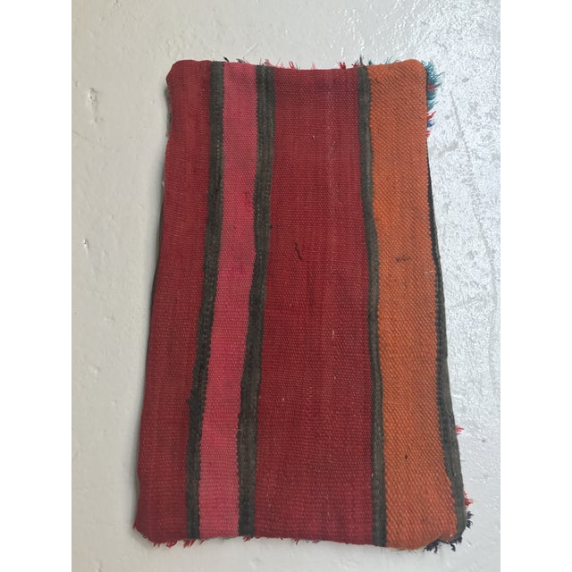 Vintage Moroccan Wool Pillow - Image 8 of 10