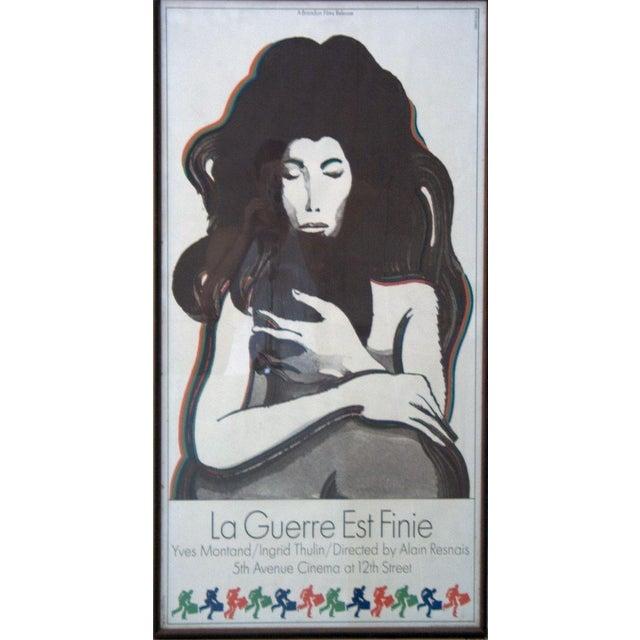 Milton Glaser La Guerre Est Finie Lithograph - Image 2 of 2