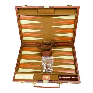 Vintage Backgammon Game Case For Sale