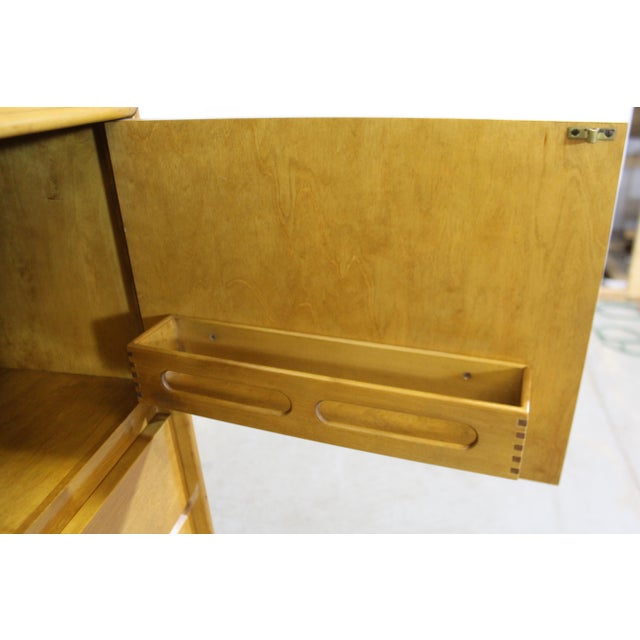 Brown Mid-Century Modern Edmond Spence Tall Chest Dresser For Sale - Image 8 of 13