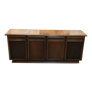Vintage Mid-Century Modern Motorola Stereo Console For Sale