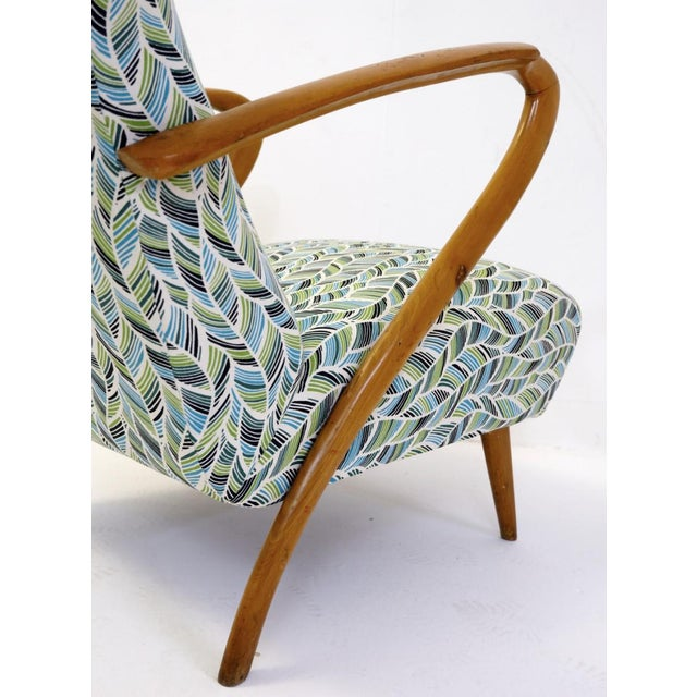 Pair Of Guglielmo Ulrich Armchairs, Italy 1950 - New Upholstery