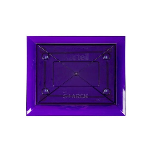Glass Purple Francois Ghost Mirror by Phillippe Starck for Kartell For Sale - Image 7 of 10