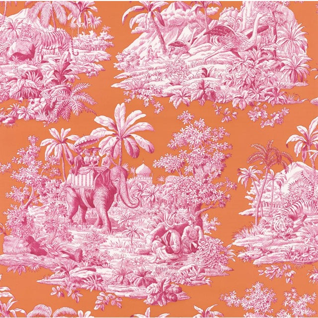 "Manuel Canovas ""Bengale"" Wallpaper For Sale"