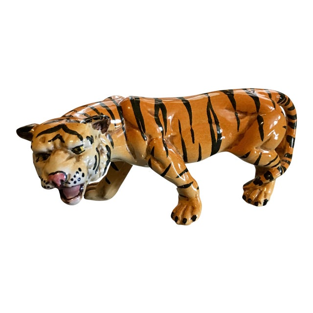 1970's Italian Terracotta Tiger - Image 1 of 8