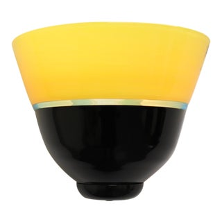 Mid-Century Modern Murano Glass Wall Lamp For Sale