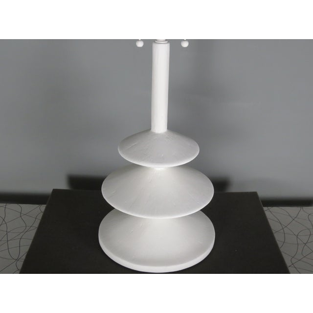 Contemporary Plaster Jmf Lamp For Sale - Image 3 of 10