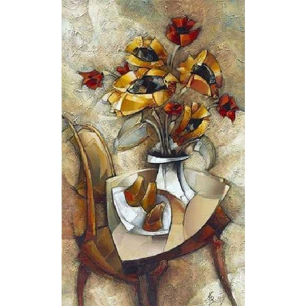 """""""Morning Bouquet"""" by Nathan Brutsky - Image 2 of 2"""