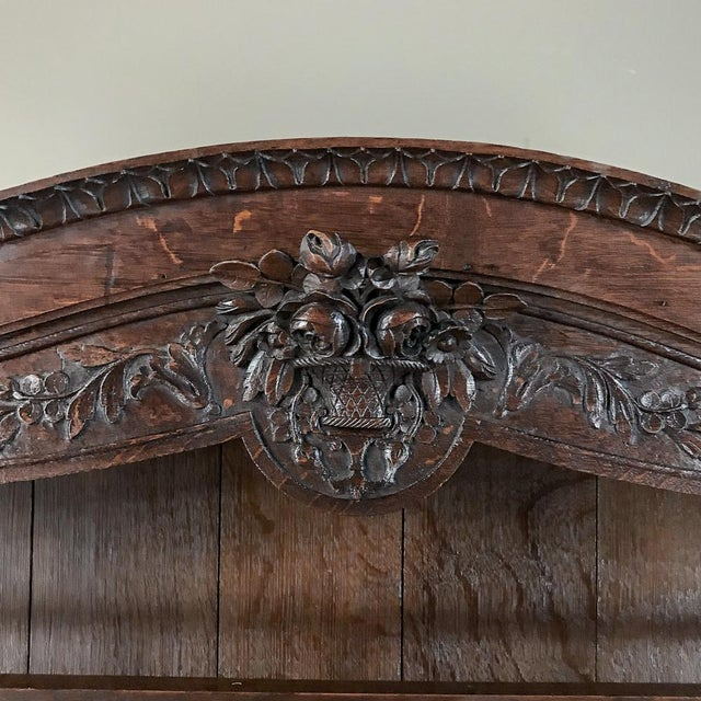 Late 19th Century 19th Century French Normandy Vaisselier ~ Buffet For Sale - Image 5 of 13