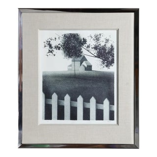 Picket Fence, Ca. 1980 by Kipniss For Sale