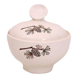Sugar Bowl w/Pinecone For Sale